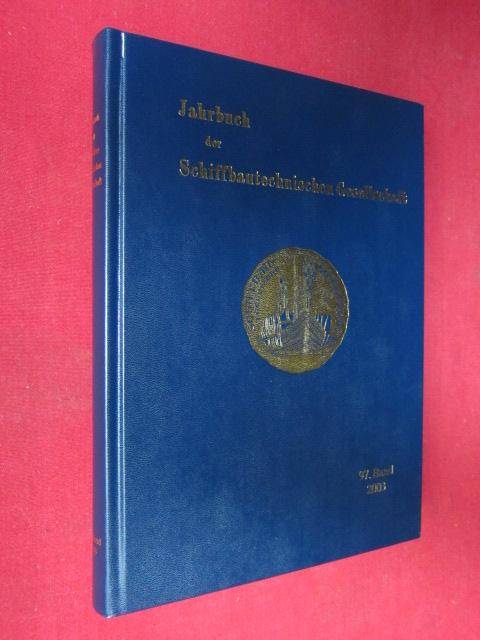 Jahrbuch der Schiffbautechnischen Gesellschaft 2003. EUR