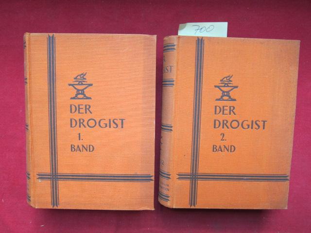 Der Drogist - Band 1 und 2 (komplett) Lehr- und Nachschlagebuch für Drogisten und Apotheker. EUR