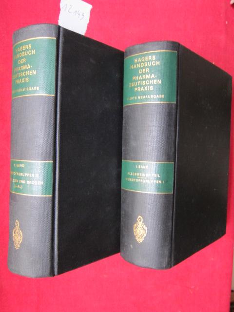 Hagers Handbuch der pharmazeutischen Praxis. Für Apotheker, Arzneimittelhersteller, Ärzte und Medizinalbeamte. EUR