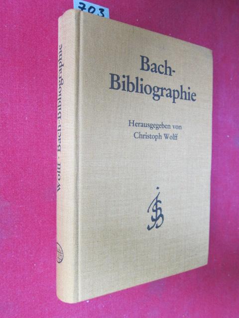 Bach - Bibliographie : Nachdruck der Verzeichnisse des Schrifttums über Johann Sebastian Bach (Bach - Jahrbuch 1905 - 1984). Mit einem Supplement und Register. EUR