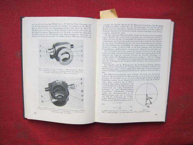 """Kompendium [Sammelband 5-8: Enthält Vorträge, die i.d. """"Int. Kursus f. Tachymetrieu. opt. Polygonierung"""" gehalten werden.] EUR"""