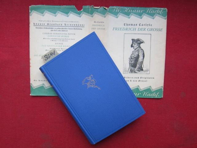 Friedrich der Große : Ausgewählt und eingeleitet von Karl Linnebach. - Mit Bildern nach Originalen von A. v. Menzel. EUR