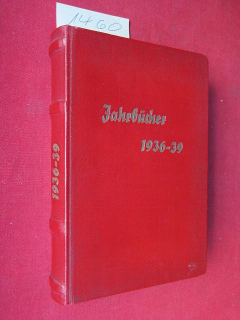 Jahrbücher der Arbeitsgemeinschaft Schwansen, Amt Hütten und Dänischwohld 1936 - 39. EUR