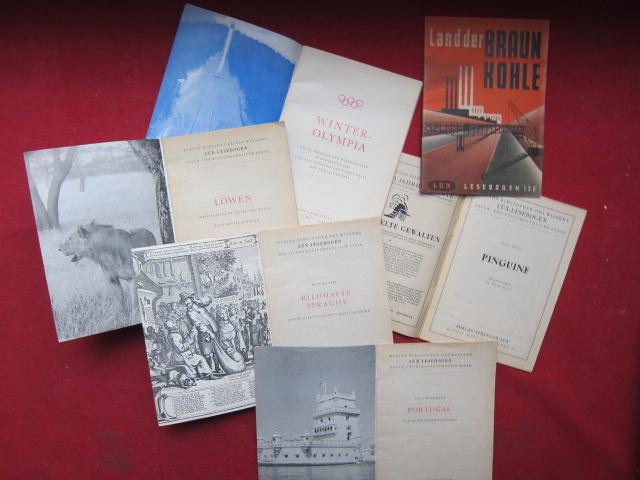 Konvolut aus 387 (von 410) Heften der Reihe : Kleine Bibliothek des Wissens. EUR