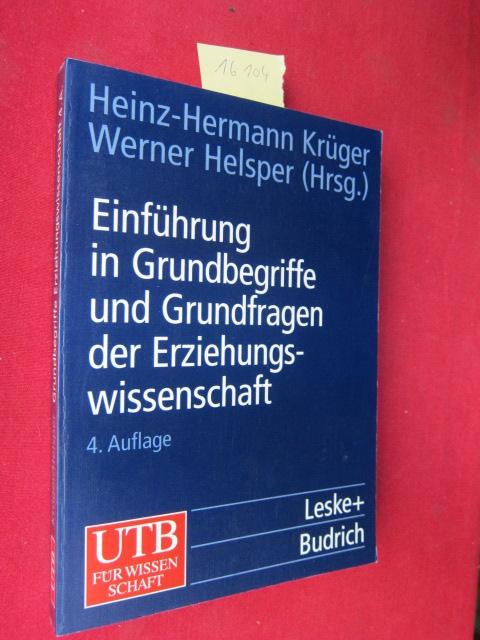 Einführungskurs Erziehungswissenschaft; Teil: Bd. 1., Einführung in die Grundbegriffe und Grundfragen der Erziehungswissenschaft. EUR