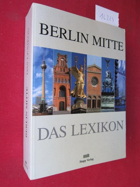 Berlin Mitte : Das Lexikon. EUR