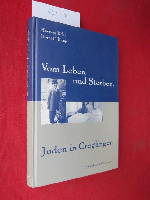 Vom Leben und Sterben : Juden in Creglingen. EUR