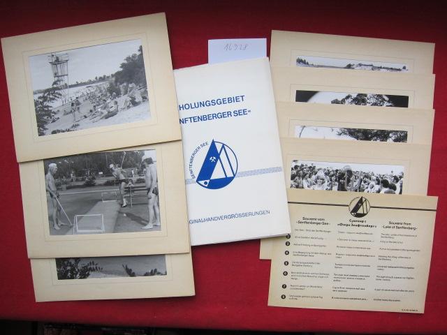 """Souvenir vom """"Senftenberger See"""" - 8 Original-Handvergrösserungen. [Deckeltitel: Souvenir aus Senftenberg] EUR"""