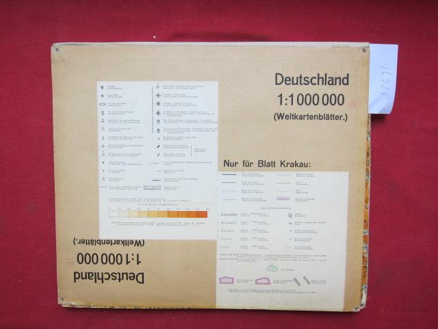 Deutschland (Weltkartenblätter) : Maßstab 1:1 000 000. EUR