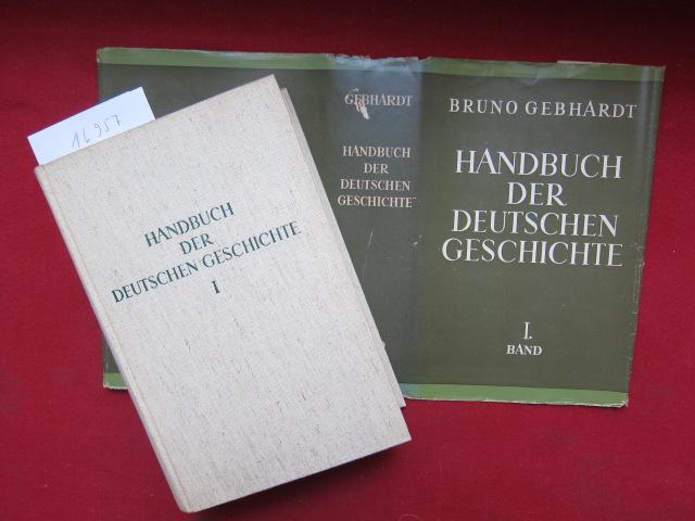 Handbuch der deutschen Geschichte. Band 1 - 4 (komplett) EUR