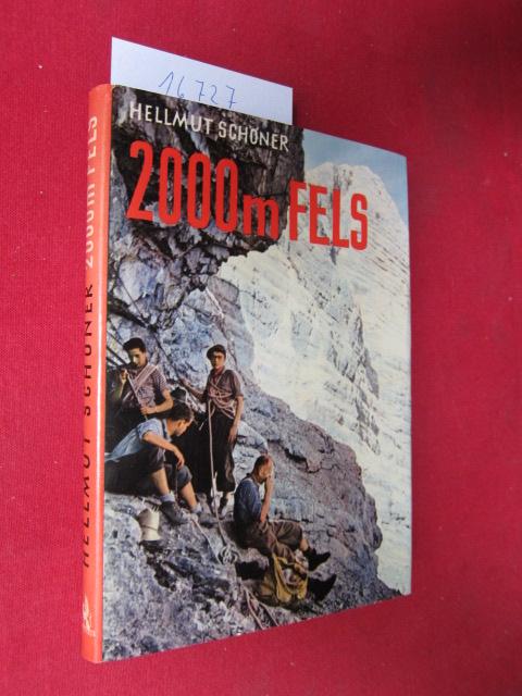 2000 Meter Fels : Ein Watzmann-Ostwand-Buch. EUR