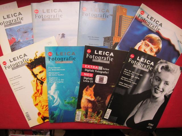 Leica Fotografie International : Heft 1 - 8/1997 (komplett) EUR