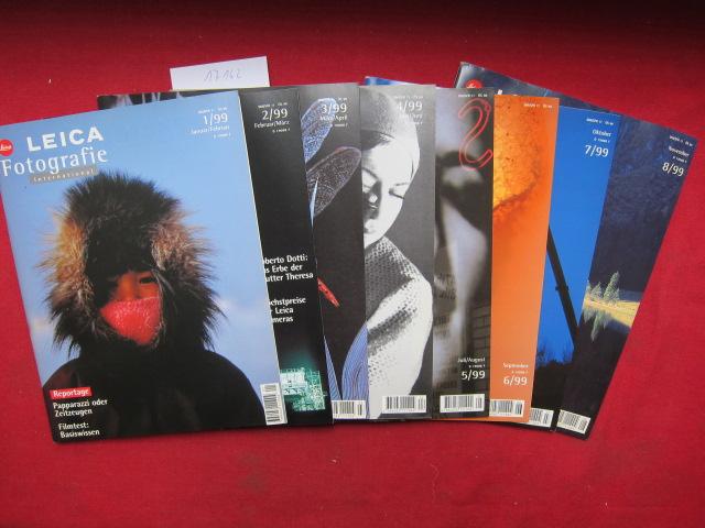 Leica Fotografie International : Heft 1 - 8/1999 (komplett) EUR