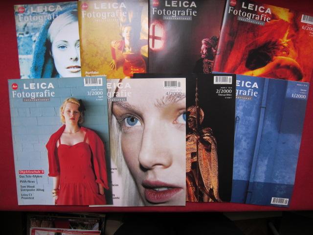 Leica Fotografie International : Heft 1 - 8/2000 (komplett) EUR