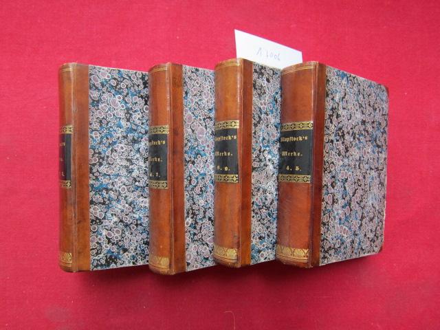 Klopstocks sämmtliche Werke : 9 Bände (gebunden in 4) EUR