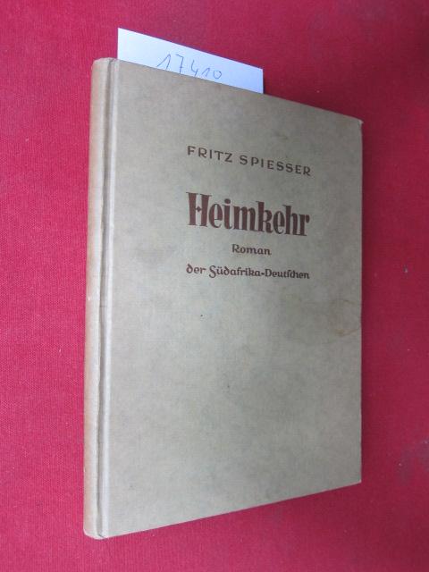 Heimkehr : Roman der Südafrika-Deutschen. EUR