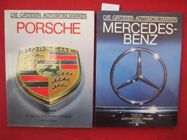 1) Porsche / 2) Mercedes-Benz (2 Bände) EUR