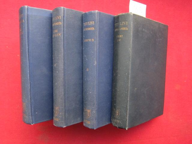 Titi Livi : AB URBE CONDITA - Tomus I - IV (Libri I - XXX). EUR