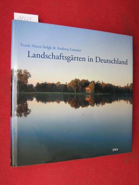 Landschaftsgärten in Deutschland. EUR