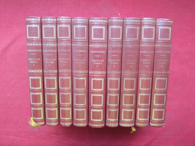 Sämtliche Werke in neun [ 9 ] Bänden : komplett. Vorwort von Wolfgang Clemen. EUR