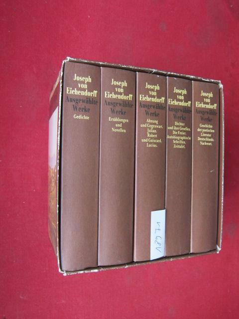Ausgewählte Werke; Band 1 - 5 (komplett) Hrsg. und mit e. Nachwort von Hans A. Neunzig. EUR