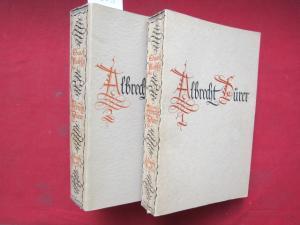 Albrecht Dürer : Sein Leben u. seine künstlerische Entwickelung. Band 1 und 2 (komplett) EUR