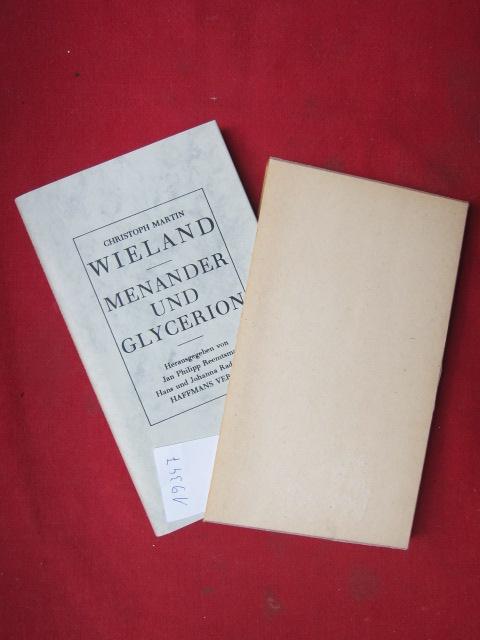 Menander und Glycerion. Wieland, Christoph Martin: Werke in Einzelausgaben EUR