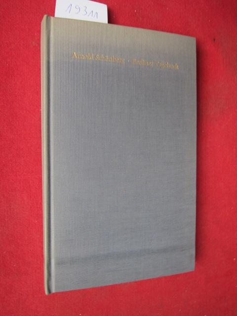 Berliner Tagebuch. Mit e. Hommage à Schönberg vom Hrsg. Josef Rufer.. EUR
