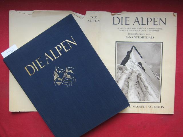 Die Alpen. Mit e. Einleitung von Eugen Kalkschmidt. EUR