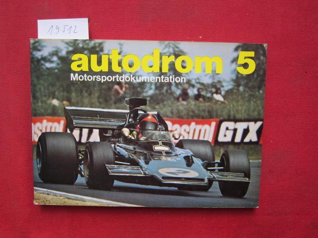 Autodrom 5 : Motorsportdokumentation. EUR
