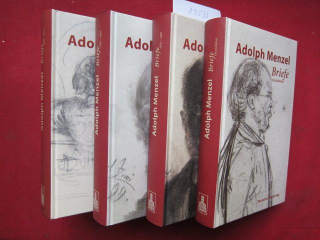 Briefe. Band 1 - 4 (komplett) Quellen zur deutschen Kunstgeschichte vom Klassizismus bis zur Gegenwart ; Bd. 6 EUR