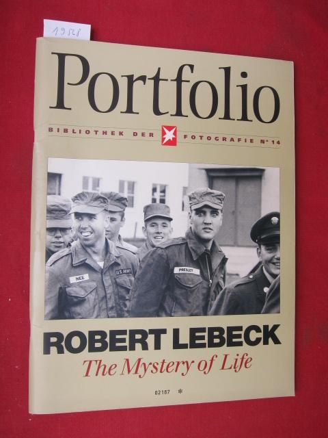 Robert Lebeck - the mystery of life. Portfolio : Bibliothek der Fotografie No. 14. EUR