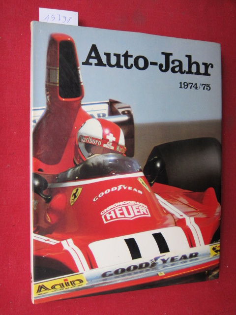 Auto-Jahr Nr. 22 - Ausgabe 1974-1975. EUR