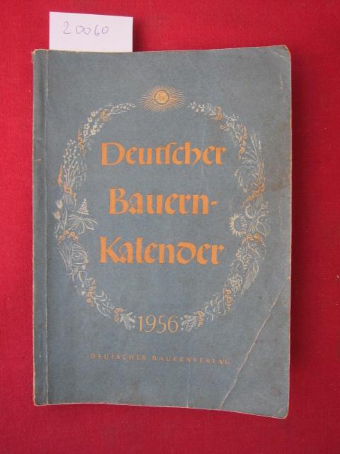 Deutscher Bauernkalender 1956. EUR