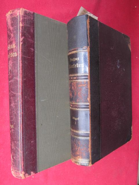 Brehms Tierleben ( Bd. 1. - Vögel) ( Bd. 2. - Vögel ) EUR