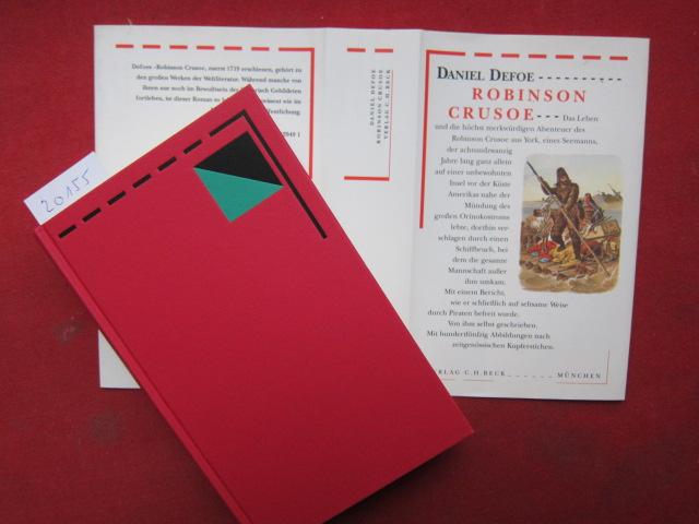 Robinson Crusoe : zwei Teile in einem Band. [Mit 150 Abb.] Aus dem Engl. von Lore Krüger und mit einem Essay von Friedemann Berger / Bibliothek des 18. Jahrhunderts EUR