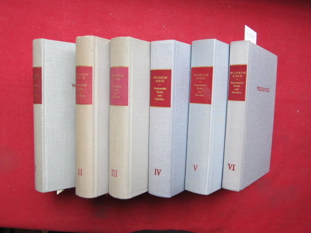 Gesammelte Reden und Schriften; Band I - VI (6 Bände). EUR