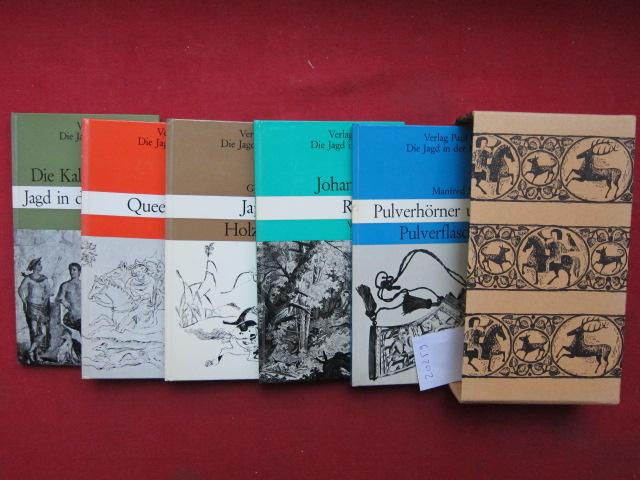 Die Jagd in der Kunst - Serie III [5 Bücher im Schuber] EUR