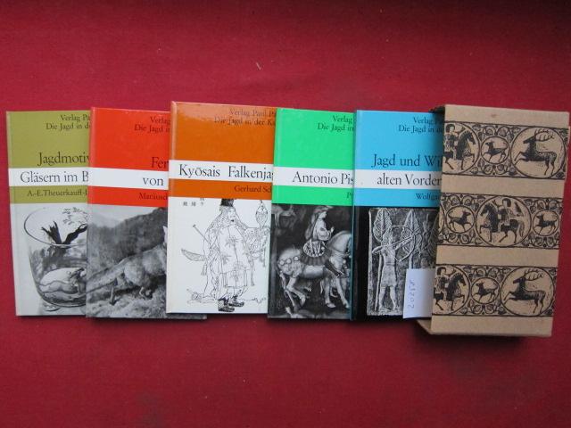 Die Jagd in der Kunst - Serie V [5 Bücher im Schuber] EUR