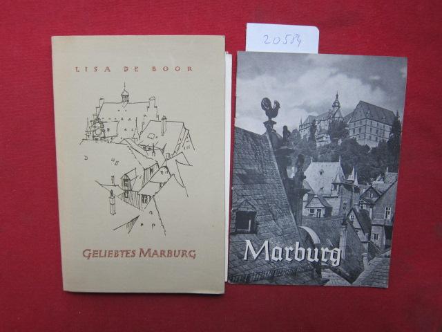 Geliebtes Marburg. Mit 22 Zeichn. von Gisela Geyer. EUR