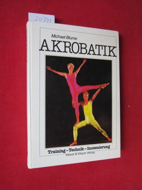 Akrobatik : Training - Technik - Inszenierung. EUR