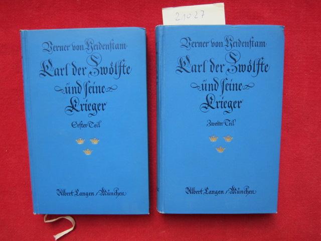 Karl der Zwölfte und seine Krieger. [2 Bände - komplett] [Berecht. Übers. aus dem Schwed. von Gustav Bergmann] EUR