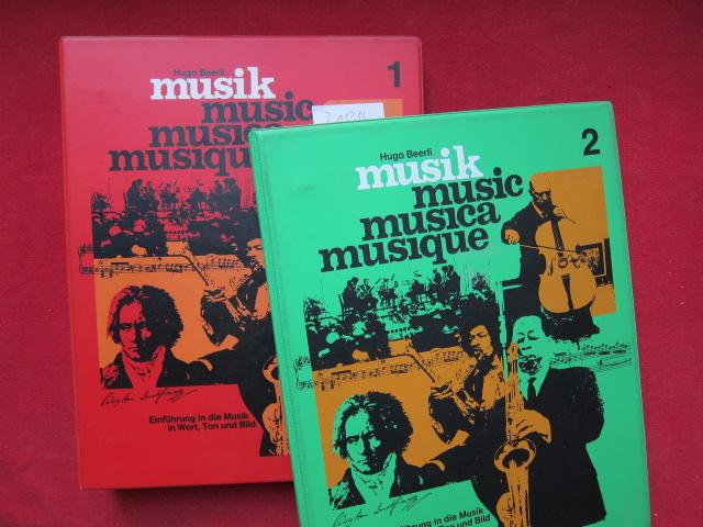 Musik : Einführung in d. Musik in Wort, Ton u. Bild . Oberstufe - Lehrerband 1 und 2. EUR