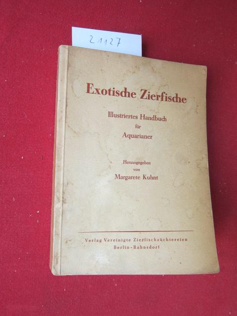 Exotische Zierfische. Illustriertes Handbuch für Aquarianer. EUR