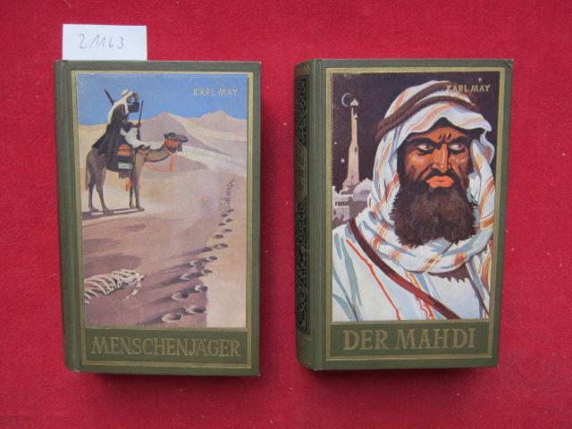 Im Lande des Mahdi. 1. Menschenjäger. 2. Der Mahdi [2 Bände] [Hrsg. von E. A. Schmid] / Karl-May-Taschenbücher ; Band 16 u. 17. EUR