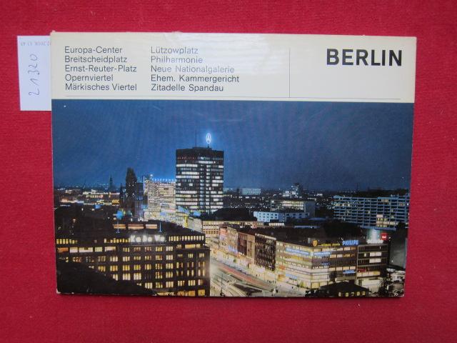 Berlin [10 Bildtafeln] EUR