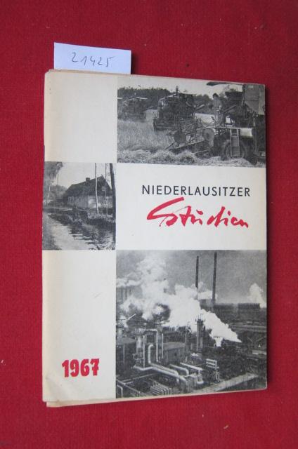 Niederlausitzer Studien 1967. Hrsg. v. d. Niederlausitzer Arbeitskreis f. regionale Forschung b. Rat d. Bezirkes Cottbus [...] EUR