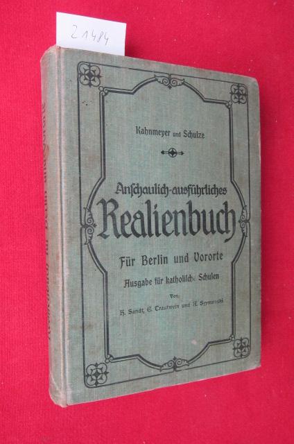 Realienbuch : Für Berlin und Vororte bearb. von H. Sandt ; E. Trautwein. EUR