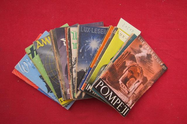 Konvolut aus 29 (von 410) Heften der Reihe : Nr. 50 - 80. : Kleine Bibliothek des Wissens. EUR