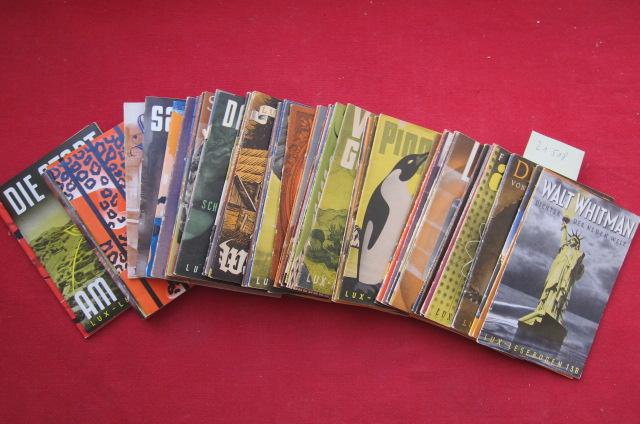Konvolut aus 63 (von 410) Heften der Reihe : Nr. 138 - 200. : Kleine Bibliothek des Wissens. EUR